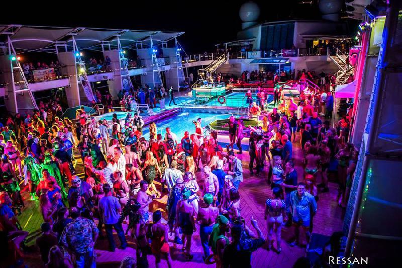Croisière libertine GEANTE Caraïbes–25 novembre au 2 décembre 2017-8 jours sans tabous avec 3000 libertins à bord